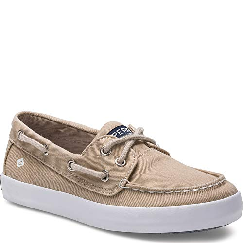 SPERRY Kids Boy's Tuck (Little Kid/Big Kid) Saltwash Khaki 6 M US Big Kid
