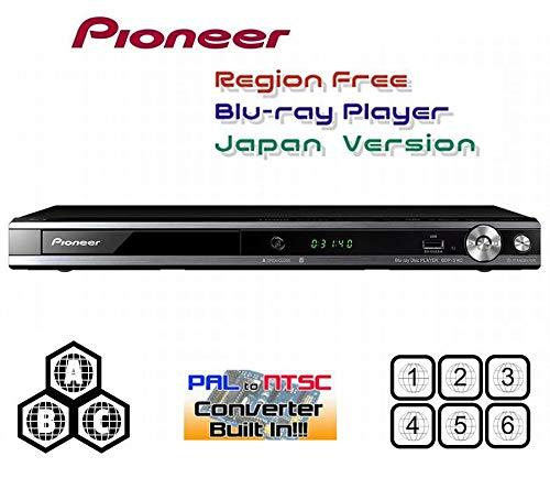 パイオニア Pioneer BDP-3140【国内仕様 リージョンフリーバージョン】語学勉強に最適/音声付き早見(1.5倍速)・遅見(0.8倍速)再生機能搭載/地デジ番組を録画したディスクも再生可能(CPRM対応)リージョンフリー ブルーレイ/DVDプレーヤー(PAL/NTSC対応) 全世界のBlu-ray & DVDが視聴可能 【完全1年保証 3年延長保証対応 HDMIケーブル/店限定保証書 付属】