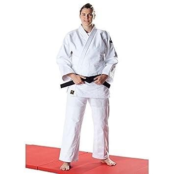 DAX Traje de judo Judogi Tori Oro Blanco: Amazon.es ...