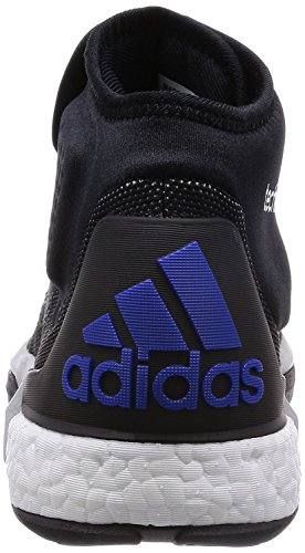 Blue Men's Black Silver Multicolored Size Adidas Trainers vZT1w