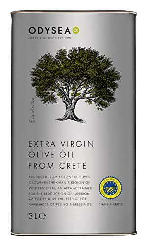 Odysea Greek Extra Virgin Olive Oil PGI Chania 3L