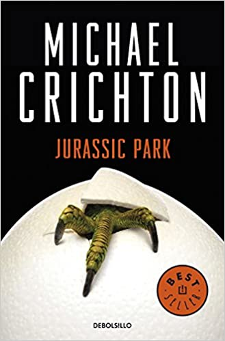 Image result for jurassic park book cover