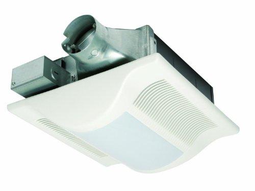 0.25' Amp - Panasonic FV-08VSL1 WhisperValue-Lite 80 CFM Super Low Profile Ventilation Fan with Light, White