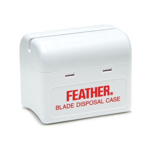 FEATHER Blade Disposal Case (Model: 433035) Razor Blade Disposal