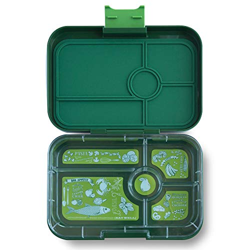 YUMBOX TAPAS Larger Size (Brooklyn Green) Leakproof Bento lunch box for Adults, Teens & Pre-teens