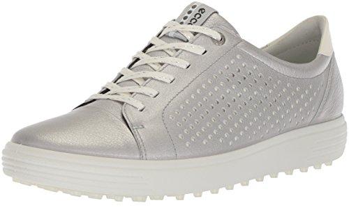 ECCO Women's Casual Hybrid Perforated Golf-Shoe, Alusilver, 38 M EU (7-7.5 US)