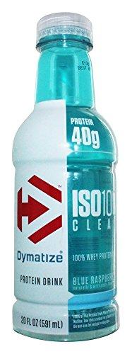 Dymatize Nutrition - ISO 100 Clear RTD Protein Drink Blue Raspberry - 20 oz.