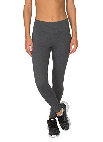RBX Active Women's Cotton Span Jersey Legging Charcoal Grey L