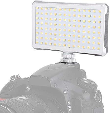 Haofyライト,写真ビデオのための色温度3200-5600 K CRI96を薄暗くする112LEDライトランプ