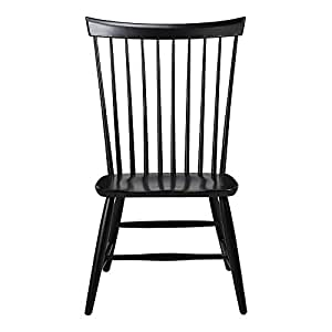 Amazon Com Ethan Allen Berkshire Side Chair Charcoal