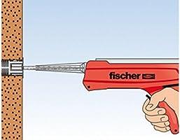 Siebh/ülse Multifunktionsm/örtel Fischer 97807 Schwerlast-Befestigungsset 300 T SBS Set M 10 Gewindestange Statikmischer B/ürste