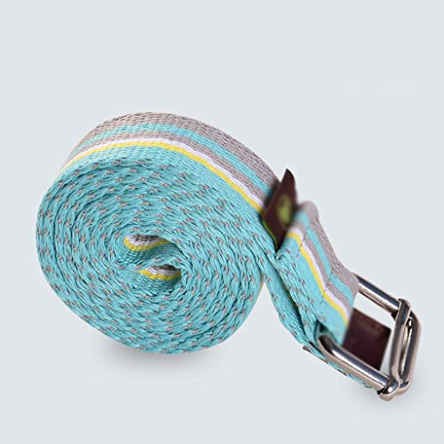 NSC Yoga Stretch Straps Cotton Belt Pilates Elastic Durable Rope for Flexibility and - Ring Daisy Stretch