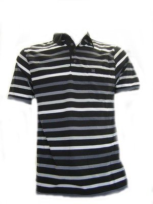 Krew Bower Polo Shirt, black
