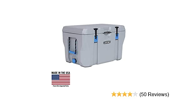 eef98913 Amazon.com : Lifetime 55 Quart High Performance Cooler, Grey, 90820 :  Garden & Outdoor