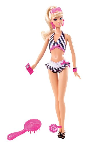 Barbie Then and Now 1959-2009 50th Anniversary Bathing Suit Doll (Vintage Barbie Dolls For Sale)