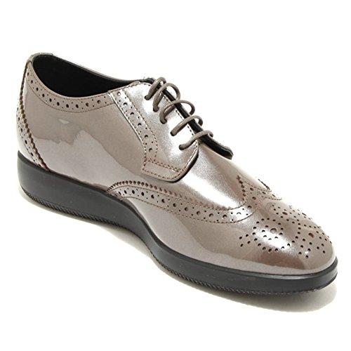 all'inglese DERBY donna 2631G XL fango scarpa 209 colore HOGAN BUCATURE Fango DRESS H 4qqvR5x