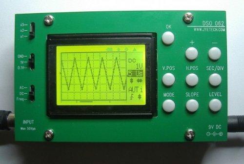 JYE Tech 06203P 062 LCD oscilloscope - Lcd Oscilloscope