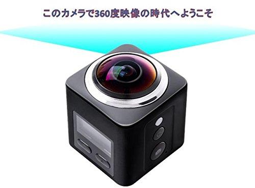 newstar 4K 画質 マイクロSDカード 水中撮影 360度カメラ 半天球全天球 スパイカメラ 小型カメラ アクションカメラ スポーツカメラ