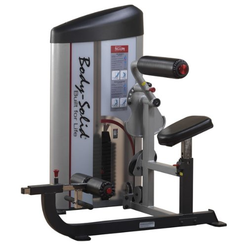 Body Solid S2ABB1 ProClub Line Series 2 Ab/Back Machine with 11-Gauge Steel Construction and Instructional Placards 160-Pound by Body-Solid