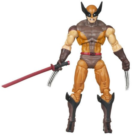 X-Men Origins Wolverine Yellow and Blue Suit Wolverine Figure