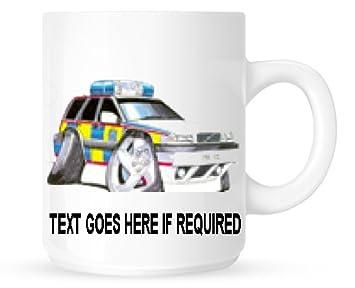 Koolart Personnalisé 1530 Du0027urgence Services Volvo Police Mug (personnalisé  Gratuit)