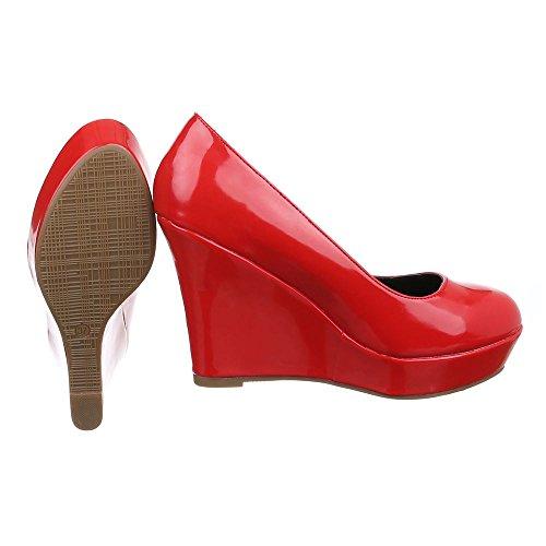 Ital-Design - Plataforma Mujer Rot PA15715