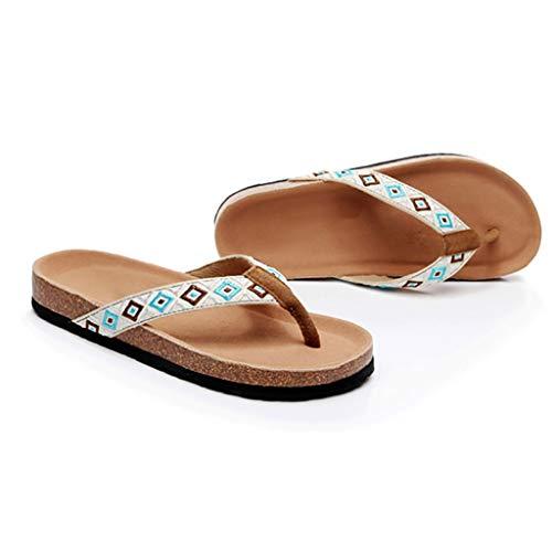 Indossando Infradito 36 Pantofole Femminile dimensioni Moda Estate Huyp Sandali IUwYZ