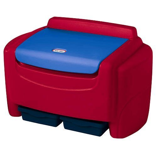 Sort N Store Toy Chest with Detachable lid- Primary Colors