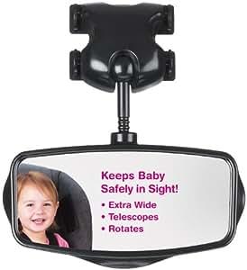 Lindam espejo retrovisor para vigilancia del beb for Espejo retrovisor coche bebe