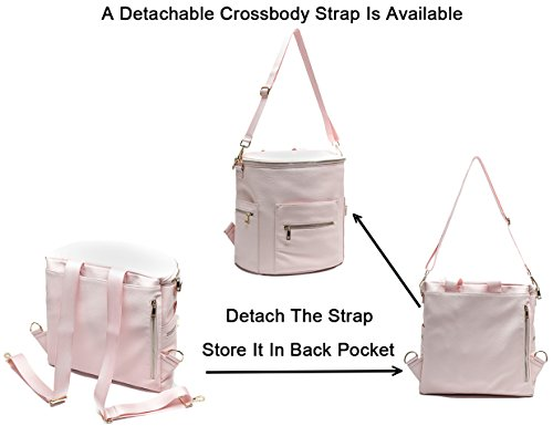a608b299e51b Diaper Bag by MF Store,Baby Diaper Bag Backpack with Laptop Sleeve,Changing  Pad,Wipes Pouch,Diaper