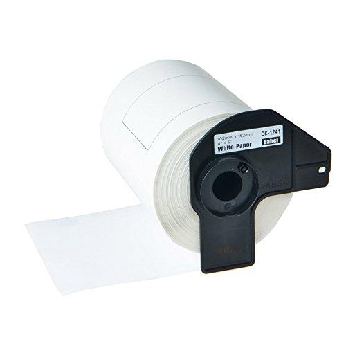Greencycle 1 Roll Compatible DK1241 DK-1241 Die-Cut Standard Direct Thermal Shipping Label 4 x 6 inch (152mm101mm) for Brother QL-1050 QL-1050N QL-1060N QL-1100 QL-1110NWB, 200 Labels Per Roll
