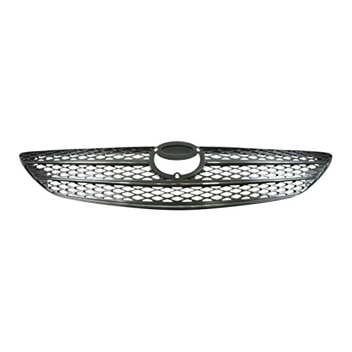 Chrome & Argent Grille Grill for Toyota Camry 02 03 04 Chrome Argent Grille Grill