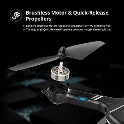 Holy Stone HS700D 2K GPS Brushless Motor Drone and Spare Batteries Set: Toys & Games