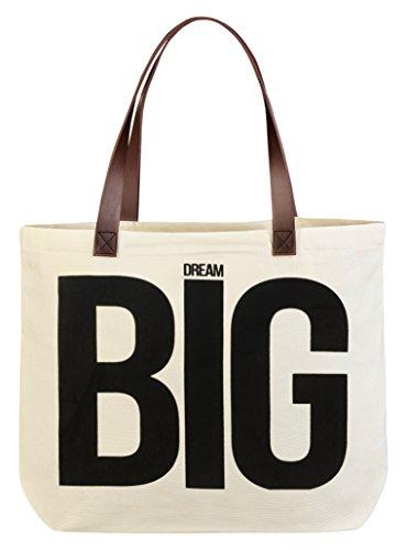Legami Dream Big, Borsa Messenger Unisex Adulto, Bianco, 9x37.5x45 cm (W x H x L)