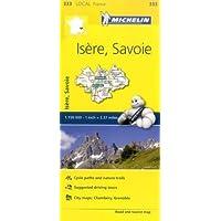 Isere, Savoie - Michelin Local Map 333 (Mapas Local Michelin, Band 333)