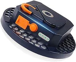 LEDランタン モバイルバッテリー 9900mAh大容量 USB充電式 テントライト 懐中電灯 読書灯 3段階調光 SOSモード USBポート最大2.1A出力 明るい 携帯型 高輝度 昼白色 マグネット テント ポータブル エクスプローラ...