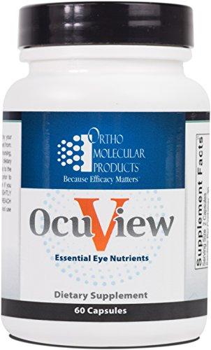 Ortho Molecular - OcuView Essential Eye Nutrients - 60 Capsules
