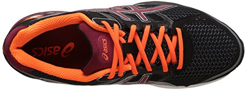 And Shoes 7 Ruby Men's Mesh Black 11 Running Uk Hot Deep Gel Orange Asics Pulse t0w7t4