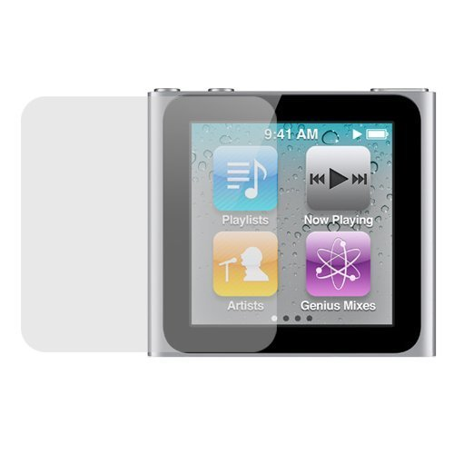 GTMax LCD Screen Protector for Apple iPod Nano 6th Generation