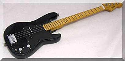JOHN DEACON Miniatura Guitarra BASS QUEEN con guitarra Pick ...