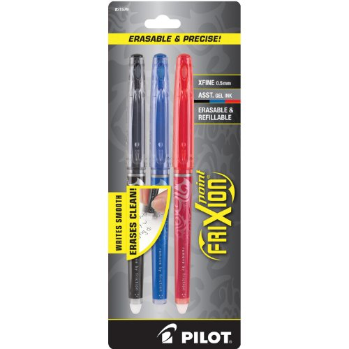 Pilot FriXion Erasable 3 Pack 31579