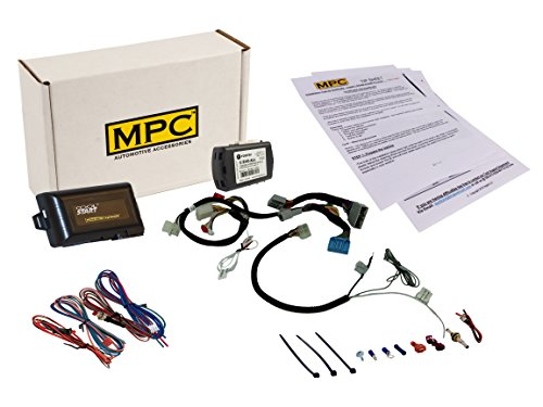 MPC Complete Factory Remote Activated Remote Start Kit for 2015-2016 Honda CR-V - Prewired - FlashLink Updater Included