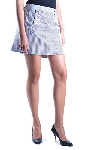 Dolce E Gabbana Mujer MCBI099290O Azul Claro Algodon Falda