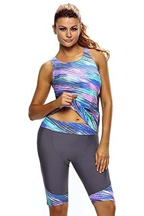 Amazon.com: SheShy Women Unitard Sport Tankini With