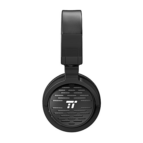 TaoTronics Bluetooth Headphones with 50mm Large-Aperture Drivers, Deep  Bass, Memory Foam Ear Pad Wireless Headphones, 25 Hour Playtime, On Ear