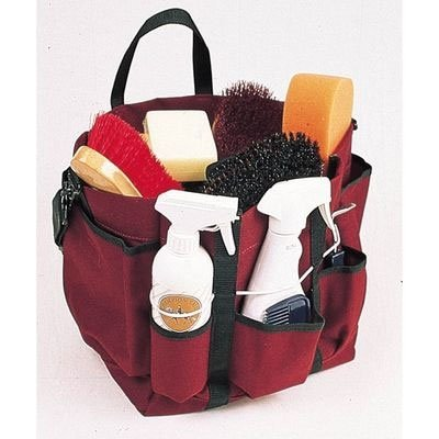 Roma Deluxe Grooming Tote - Color:Burgundy Size:One