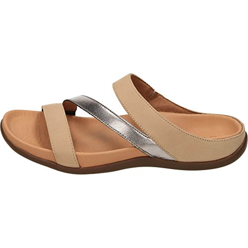 Sandal Trio Pewter Oxford Tan Footwear Orthotic Strive Stylish IpwxqanPpT