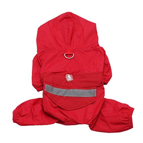Idepet Raincoat Waterproof Chihuahua Jumpsuit product image