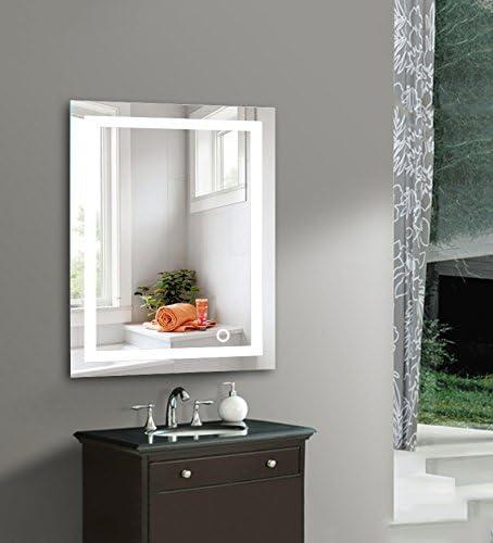 Wefun Badspiegel Mit Beleuchtung Badezimmerspiegel Mit Beleuchtung