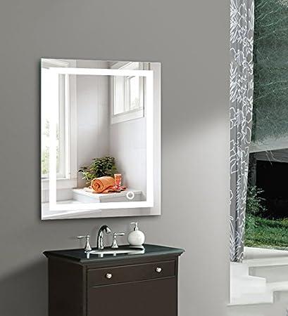 WeFun Specchio da Bagno con LED,Specchio Luce LED con Illuminazione ...